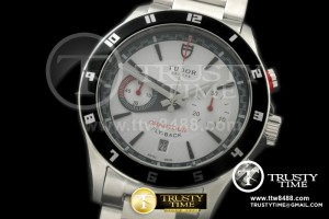 TUD020C - Gran Tour Flyback SS/SS White A-7750