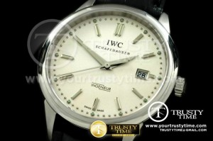 IWC0138B - Ingenuier Vintage SS/LE White A-2824