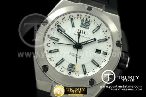 IWC0182A - Ingenuier 3785 Duo Time SS/RU White Dial A-2813