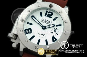UB020A - U42 SS/LE White 47mm Asian 6497 H/W