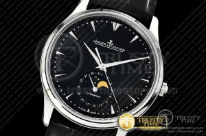JL123 - Master Ultra Thin Moonphase SS/LE Black ZF 1:1 MY9015