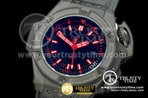 HUB0187C - Lite Diver 4000m PVD/RU Black/Red Asian 7750