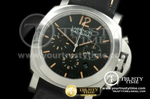 PN356 - Pam 356 Patina Daylight Chrono Asian 7750