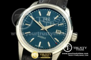 IWC0154 - V2 Ingenuier Vintage St Laurens SS/NY Blue Dial A-2824