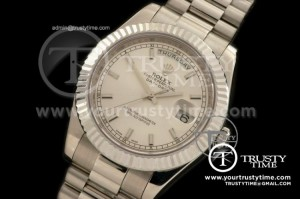 R2DD0173A - SS Pres Fluted White Sticks Swiss ETA