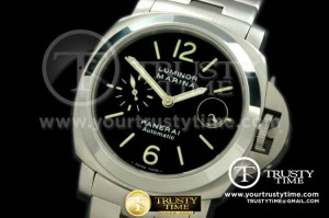 PN299NSS - Pam 299N SS/SS Blk Dial A7750