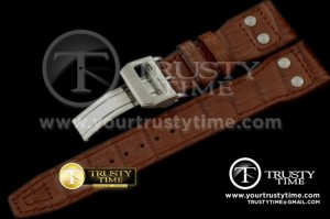 IWCSTP002C - Leather Strap Walnut for Big Pilot and Top Gun