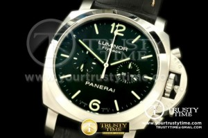PN361LE - Pam 361 Flyback Chrono SS/LE Black Dial ST19M