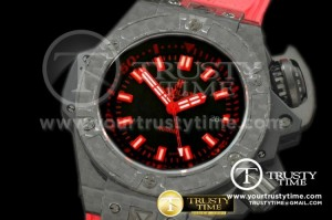 HUB0173A - Hublot King Power Diver 4000m CF/RU Black Asian 2824