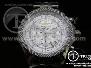 BB001F - Breitling for Bentley Motors SS White