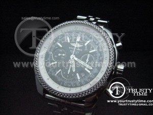 BSW0012A - Breitling Bentley 47mm Black - Asia 7750 Chronograph