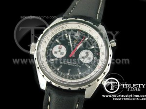 BSW0022A - Chrono-matic SS Black - Lemania Working Chronograph