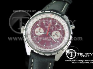 BSW0022D - Chrono-matic SS Red - Lemania Working Chronograph