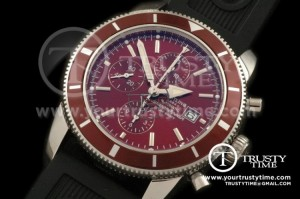 BSW0067D - Superocean Heritage Chrono SS/RU Brown A-7750