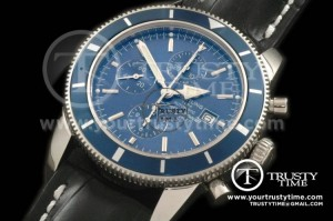 BSW0067B - Superocean Heritage Chrono SS/LE Blue A-7750