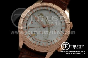 PP0075A - Skymoon Automatic RG/LE White Asian 2813 21J