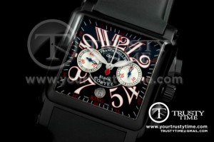 FM060 - King Black Cortez 10000 Chrono DLC/RU Black A-7750